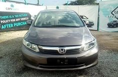 Neat Nigerian used Honda Civic 2012