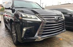 Very Clean Foreign used Lexus LX 2016 Black