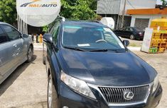 Foreign Used Lexus RX 350 2010 Black