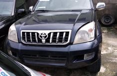 Neat Foreign used Toyota Land Cruiser Prado 2005 GX Blue