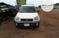 Nigeria Used Toyota RAV4 2002 Model White