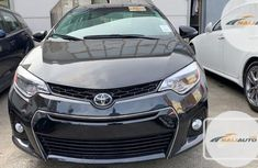 Foreign Used Toyota Corolla 2016 Black