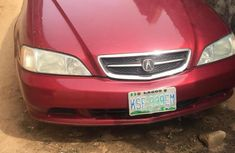 Nigerian Used Acura TL 2000 Red