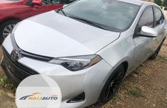 Very Clean Foreign used Toyota Corolla 2017 Silver