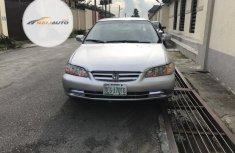 Nigerian Used Honda Accord 2002 EX Silver