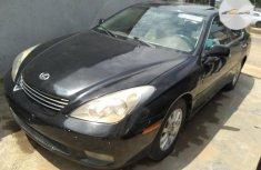 Foreign Used Lexus ES 2004 Model Black