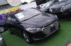 Foreign Used Hyundai Elantra 2017 Model Black