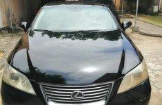 Nigeria Used Lexus ES 350 2009 Model Black