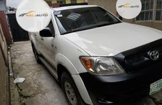 Nigeria Used Toyota Hilux 2008 Model White