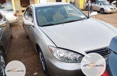 Foreign Used Toyota Camry 2006 Gold