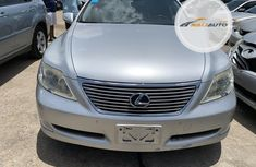 Foreign Used Lexus LS 460 2009 Model Silver