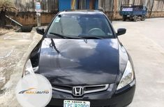 Nigeria Used Honda Accord 2004 Model Black