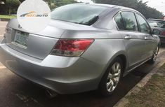 Very Clean Nigerian used Honda Accord 2009 Silver