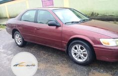 Nigerian Used Toyota Camry 2000 Red