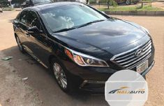 Very Clean Foreign used Hyundai Sonata 2016 Black