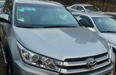 Foreign Used Toyota Highlander 2017 Model Silver