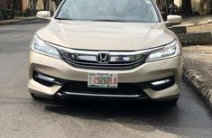 Clean Foreign used Honda Accord 2015 Gold