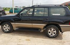 Toyota Land Cruiser Prado Nigeria Used 2002 Model Black