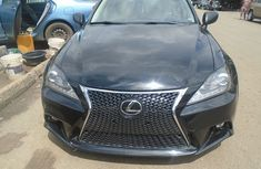 2008 Lexus IS 250 Nigeria Used Black for Sale