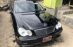 Used Mercedes Benz C240 Foreign 2004 Model Black