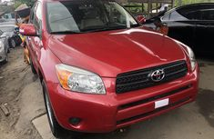 Used Toyota RAV4 for Sale Foreign 2008 Model Red