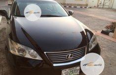 Nigeria Used Lexus ES 350 2012 Model Black