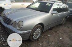 Tokunbo Mercedes-Benz E230 2002 Model Silver