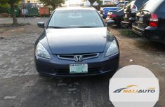 Very Clean Nigerian used Honda Accord 2.0 Comfort Automatic 2005 Gray