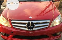Foreign Used Mercedes-Benz C300 2010 Model Red