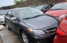 Used Toyota Corolla Foreign 2013 Model Grey for Sale