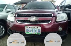 Nigeria Used Chevrolet Captiva 2009 Model Red