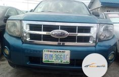 Nigeria Used Ford Escape 2011 Model Blue