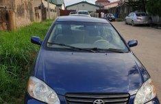 Nigeria Used Toyota Corolla 2008 Model Blue