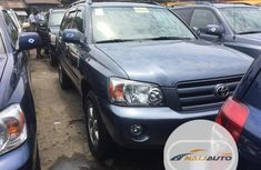 Very Clean Foreign used Toyota Highlander 2004 Limited V6 4x4