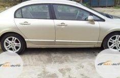 Very Clean Nigerian used Honda Civic 2008 Beige