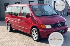 Foreign Used Mercedes-Benz Vito 2002 Model Red