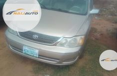 Nigeria Used Toyota Avalon 2002 Gold