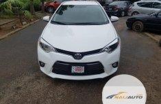 Nigeria Used Toyota Corolla 2015 Model White