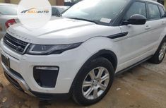 Very Clean Foreign used Land Rover Range Rover Evoque 2017 White