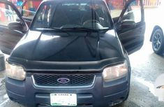 Nigeria Used Ford Escape 2007 Hybrid Black