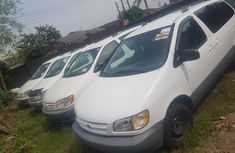 Used Toyota Sienna for Sale in Nigeria 2001 Model White