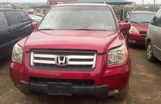 Honda Pilot for Sale in Lagos Tokunbo 2007 Model Red