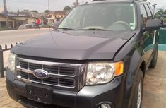 Foreign Used Ford Escape 2008 Model Black for Sale
