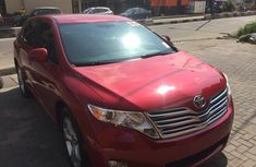 Used Toyota Venza Foreign 2010 Model Red