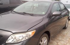 Used Toyota Corolla Foreign 2010 Model Grey for Sale