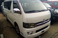 Toyota HiAce Bus Foreign Used 2010 Model White