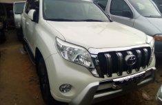 Toyota Land Cruiser Prado Foreign Used 2014 Model White