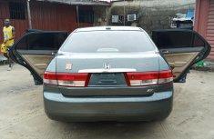Nigerian Used Honda Accord Very Clean