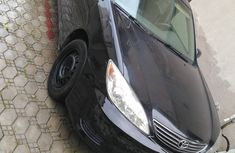 Nigeria Used Toyota Camry 2005 Model Black for Sale
