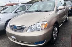 Used Toyota Corolla Foreign 2006 Model Gold for Sale